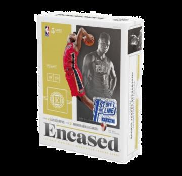2019-20 Panini Encased Basketball 1st off the Line FOTL Hobby Box