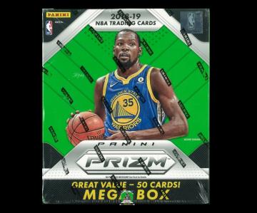2018-19 Panini Prizm Basketball 50ct Mega Box
