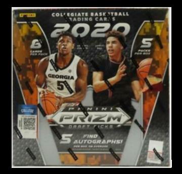 2020-21 Panini Prizm Collegiate Draft Picks Basketball Hobby Box