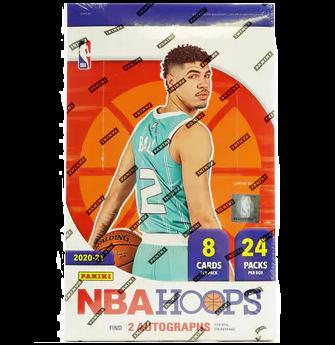 2020-21 Panini NBA Hoops Basketball Hobby Box