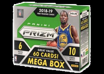 2018-19 Panini Prizm Basketball 60ct Mega Box