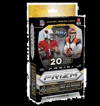 2020 Panini Prizm Football Hanger 20ct Box (Walmart)