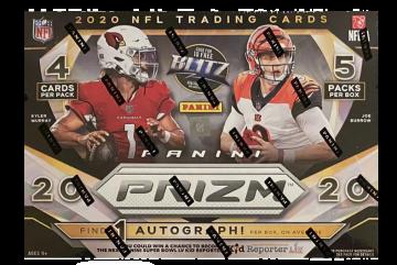 2020 Panini Prizm Football Mega 20ct Box (Target)