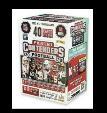 2020 Panini Contenders Football Blaster Box