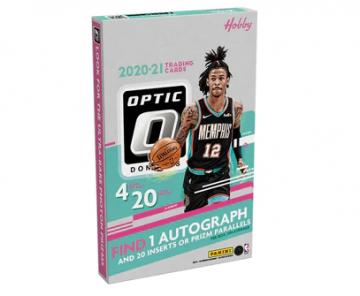 2020-21 Panini Donruss Optic Basketball Hobby Box