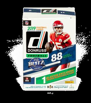 2019 Panini Donruss Football Blaster Box