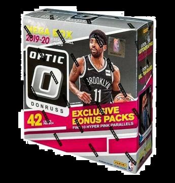2019-20 Panini Donruss Optic Basketball Mega Box (42ct)