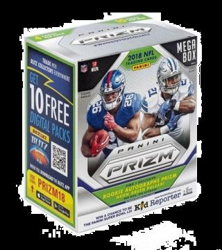 2018 Panini Prizm Football Mega Box