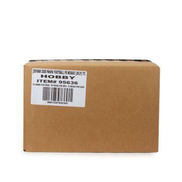 2020 Panini Mosaic Football Hobby 12 Box Case