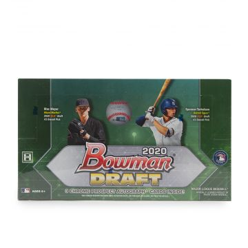 2020 Bowman Draft Baseball Hobby Jumbo Box