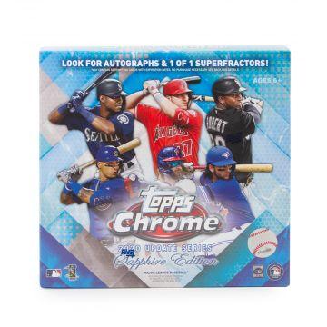 2020 Topps Chrome Update Baseball Sapphire Edition Box