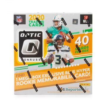 2020 Panini Donruss Optic Football Mega Box (Blue Hyper)(Walmart)