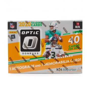 2020 Panini Donruss Optic Football Mega Box (Bronze Parallel)(Target)