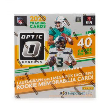 2020 Panini Donruss Optic Football Mega Box (Red Hyper)(Fanatics)