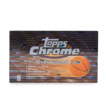 1997-98 Topps Chrome Basketball Hobby Box