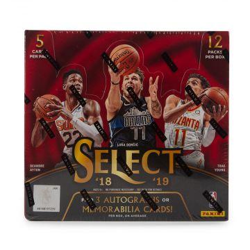 2018-19 Panini Select Basketball Hobby Box