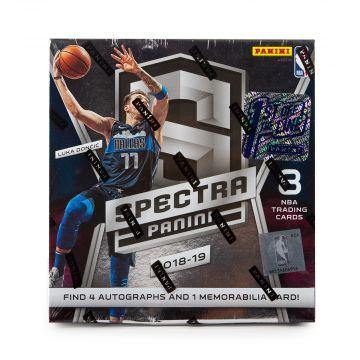 2018-19 Panini Spectra FOTL 1st off the Line Basketball Hobby Box