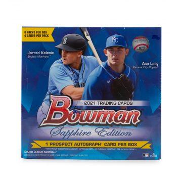 2021 Bowman Sapphire Edition Baseball Hobby Box