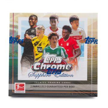 2020-21 Topps Chrome Bundesliga Soccer Sapphire Edition Box