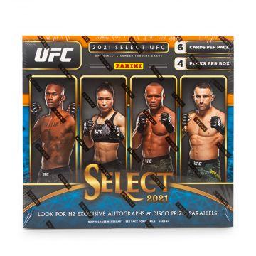 2021 Panini Select UFC H2 Hobby Hybrid Box