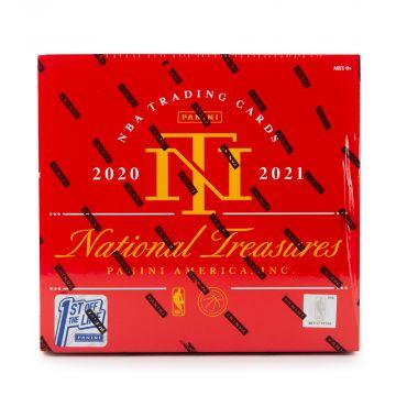 2020-21 Panini National Treasures Basketball First off the Line FOTL Hobby Box