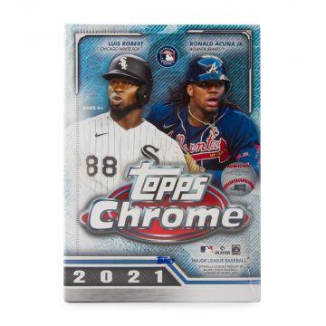 2021 Topps Chrome Baseball Blaster Box