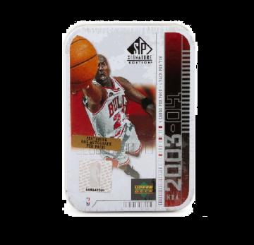 2003-04 Upper Deck SP Signature Basketball Hobby Jordan White Tin Box