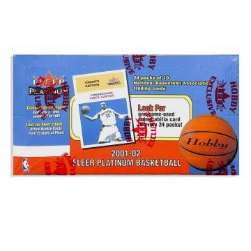 2001-02 Fleer Platinum Basketball Box