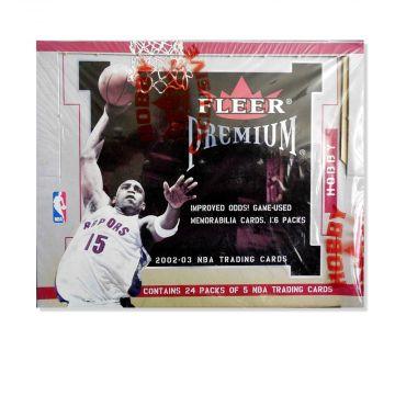 2002-03 Fleer Premium Basketball Box