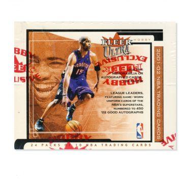 2001-02 Fleer Ultra Basketball Hobby Box