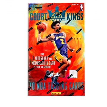 2017-18 Panini Court Kings Basketball Hobby Box