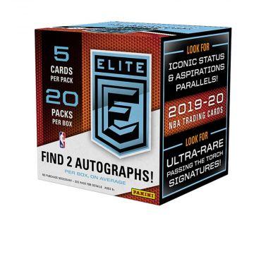 2019-20 Panini Elite Basketball Hobby Box