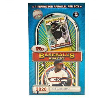 2020 Topps Finest Flashback Baseball Hobby Box