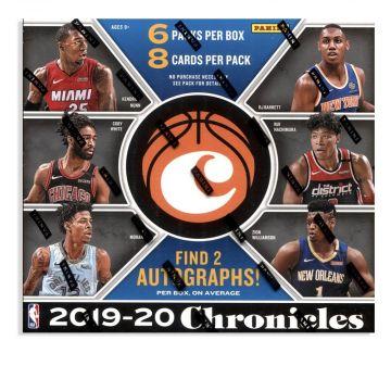2019-20 Panini Chronicles Basketball Hobby Box