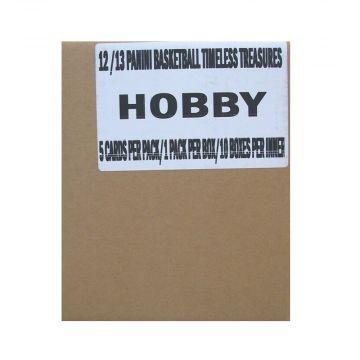 2012-13 Panini Timeless Treasures Basketball Hobby  10 Box Inner Case