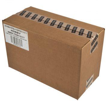 2018 Panini Certified Football Hobby 12 Box Inner Case