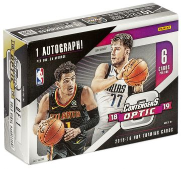 2018-19 Panini Contenders Optic Basketball Hobby Box
