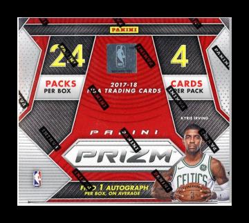 2017-18 Panini Prizm Basketball Retail Box