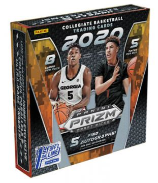 2020-21 Panini Prizm Collegiate Draft Picks Basketball FOTL Hobby Box