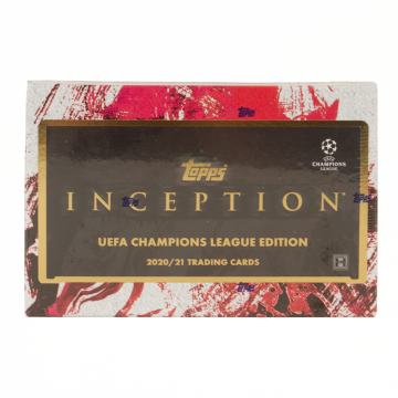 2020-21 Topps UEFA Champions League Inception Soccer Hobby Box