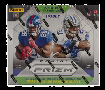 2018 Panini Prizm Hobby Football Box