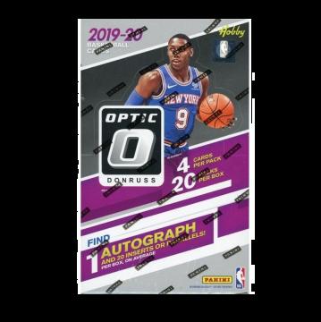 2019-20 Panini Donruss Optic Basketball Hobby Box