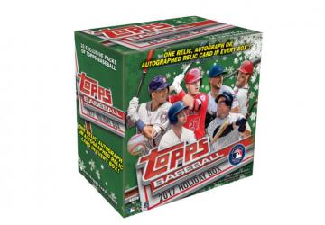 2019 Topps Holiday Baseball Mega Box